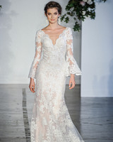 Morilee Long Sleeves V-Neck Wedding Dress Fall 2018