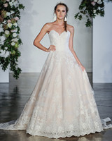 Morilee Sweetheart Off-the-Shoulder Wedding Dress Fall 2018