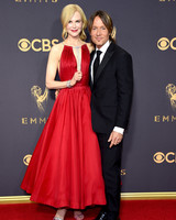 Nicole Kidman and Keith Urban Emmys 2017