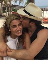 Nikki Reed and Ian Somerhalder on Honeymoon in Mexico