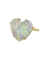 heart-shaped opal engagement ring