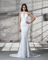 pnina tornai wedding dress spring 2019 lace sleeveless trumpet