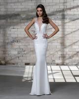 pnina tornai wedding dress spring 2019 sleeveless v neck