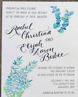 rachel elijah wedding invite