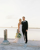 sara danny mexico wedding couple beach