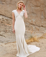 savannah miller fall 2018 v-neck beaded wedding dress