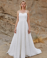 savannah miller fall 2018 sweetheart spaghetti strap wedding dress