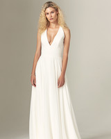savannah miller fall 2019 a line v neck sleeveless minimalist