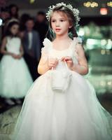 shqipe zenel wedding flower girl