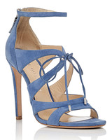 Chloe Blue Suede Shoes