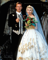 Sting and Trudie Styler Wedding Photo