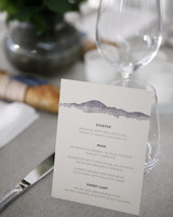 tommy steve wedding menu