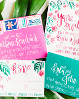 Tropical Invitation Suite