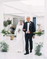 vanessa abidemi wedding processional
