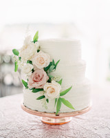 vanilla wedding cakes rebecca hollis