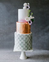 vicky james mexico wedding 3 tiered cake