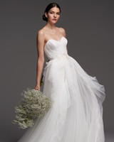 watters wedding dress fall 2018 sweetheart tulle strapless