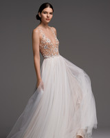 watters wedding dress fall 2018 v-neck tulle