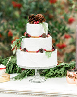 winter wedding cakes christie skari