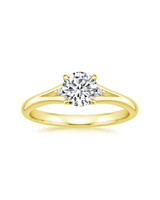 18K Yellow Gold Lena Diamond Ring