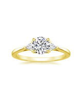 18K Yellow Gold Esprit Diamond Ring