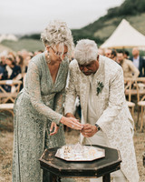 zai phil camping wedding ceremony hindu ritual
