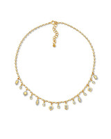 20-Karat Diamond Lantern Necklace