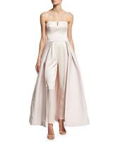 pink jumpsuit bridesmaid