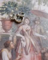 Brooke and David's wedding - wedding rings