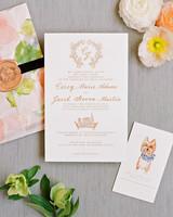 carey jared wedding invite formal