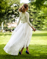 Olivia Palermo Wedding hair