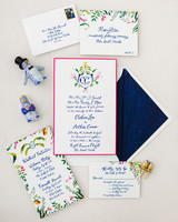 chelsea conor wedding stationary