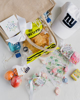 chelsea conor wedding welcome bag