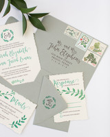 deckle edge invitations meggie taylor