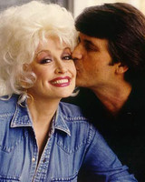 Dolly Parton and Carl Dean Throwback Photograph