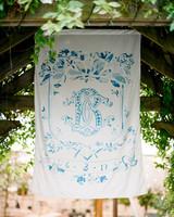 Dutch-delft wedding banner