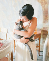 cat wedding guest