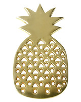Dear Keaton Gold Pineapple Trivet