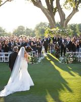 jessica brian wedding processional