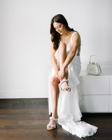 krista will wedding bride accessories shoes and purse