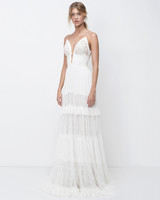 lihi hod lace sheath wedding dress with spaghetti straps fall 2018