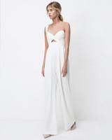 lihi hod sweetheart pantsuit wedding dress fall 2018