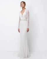 lihi hod sheath long-sleeves wedding dress fall 2018