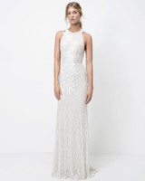 lihi hod lace high neck sheath wedding dress fall 2018
