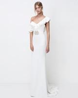 lihi hod sheath one-shoulder wedding dress fall 2018