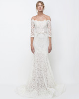 lihi hod off-the-shoulder lace trumpet wedding dress fall 2018