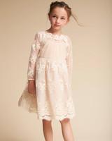 long sleeve flower girl dresses bhldn