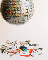 Disco Ball Pinata Filled With Favors