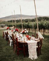 macrame wedding decor elizabeth wells