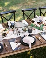 megan scott wedding table place settings